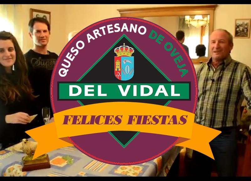 Quesos artesanos del Vidal les desea Felices Fiestas 2015