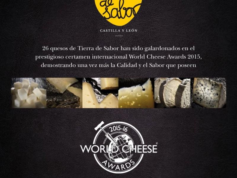 World Cheese Awards premia a los quesos de Castilla y León